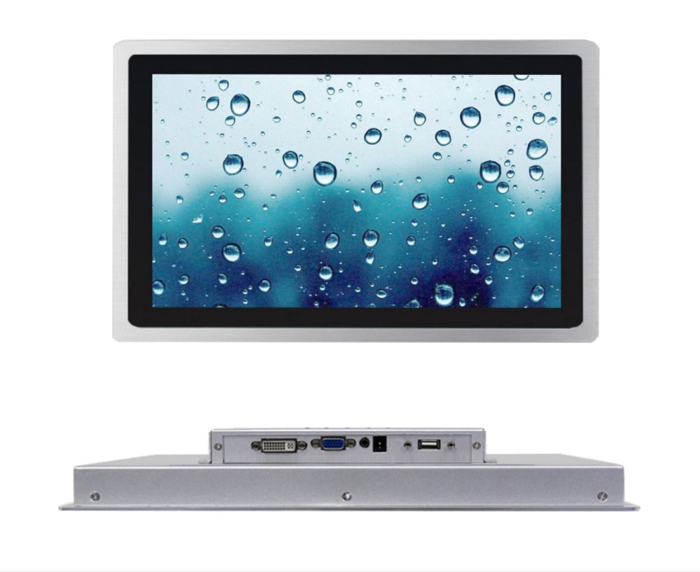 10 Inch High Brightness Monitor With 1000 Cd/m2 Industrial Touch Screen With VGA/DC PORT
