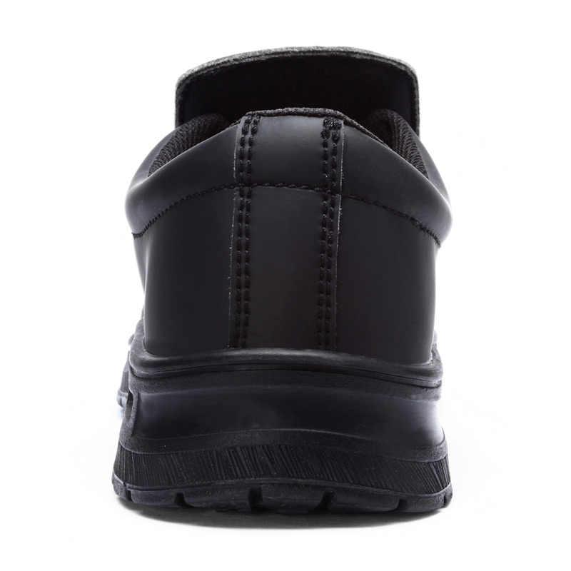 MODYF Erkekler Rahat deri ayakkabı Erkekler Çelik Ayak Ayakkabı Iş Güvenliği Ayakkabıları Anti-smashing Su Geçirmez Ayak Bileği Botas