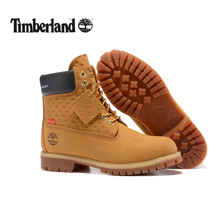 TIMBERLAND New Super Original Men Premium 100% Waterproof Boots For Male Genuine Cow Leather Ankle Wearable Yellow Joint Shoes