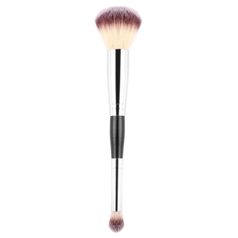 1PCS Double-Head Foundation Cosmetic Cosmetic  Makeup  Make Up Brush tool Eyeliner Brush