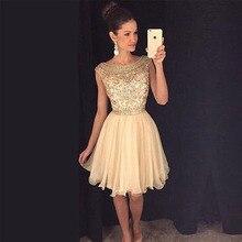 Elegante cocktailkleider kristall perlen prom kleider short knielangen abschlussfeier kleider kurze heimkehr dress
