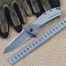 Высокое Качество 60HRC D2 стеклоочистителя All-Сталь ручка складной нож открытый отдых инструмент выживания тактический карманный утилита EDC ножи