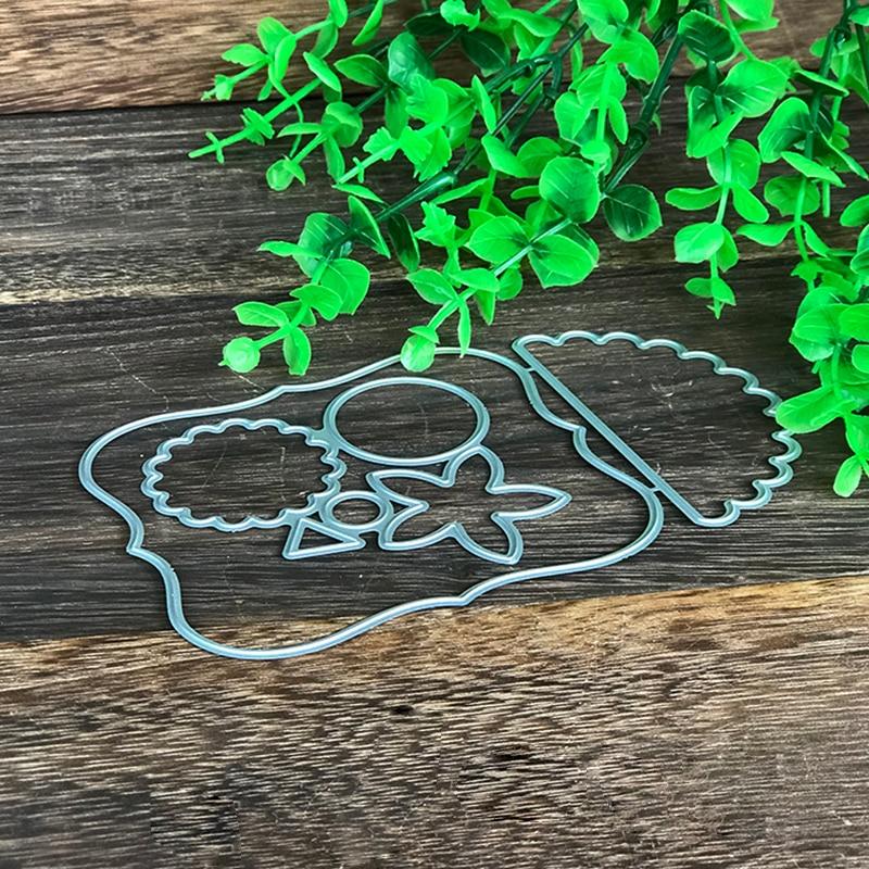 Cute Owl Metal Cutting Dies for Scrapbooking DIY Album Embossing Folder Paper Card Maker Template Decor Stencils Crafts Dies in Cutting Dies from Home Garden