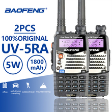 Buy 2pcs Baofeng UV-5RA High Quality Walkie Talkie VHF Ham Radio Hf Transceiver Baofeng UV-5R Upgraded Walky Talky Professional UV5R directly from merchant!