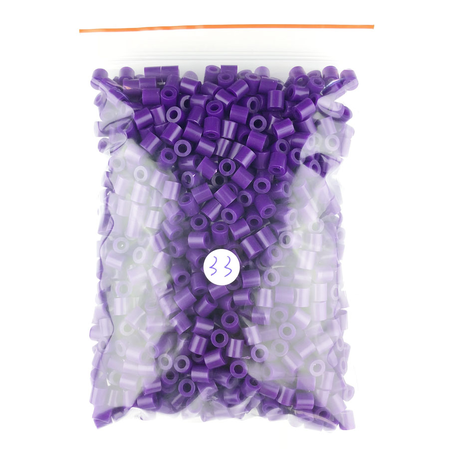 1000 pcs/Bag 5mm Hama Beads/ PUPUKOU Iron Beads KID FUN.Diy Intelligence Educational Toys Puzzles 13