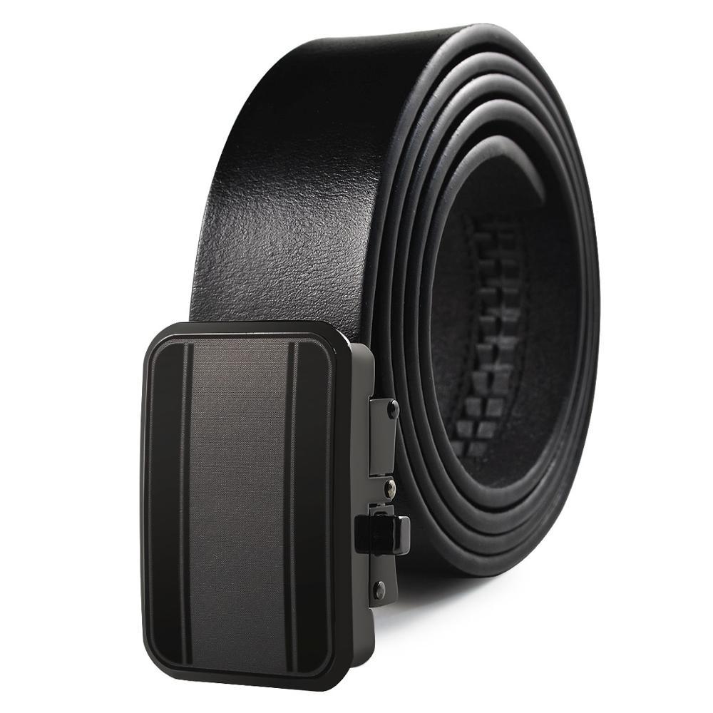 Brand Wholesale  Men's Belts Casual Clothing Accessories Leather Cowboy Belt Quality Assurance Men's Belts Black Free Shipping
