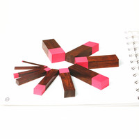 Baby Toy Montessori Guiding Cards Pink Tower Brown Stairs Long Rods Sensorial Early Education Preschool Kids