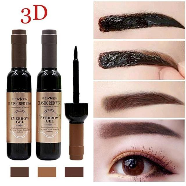 1 Pcs Eyebrow Black Coffee Gray Peel Off Eye Brow Tattoo Shadow Eyebrow Gel Cosmetics Makeup for Women High Pigment Makeup