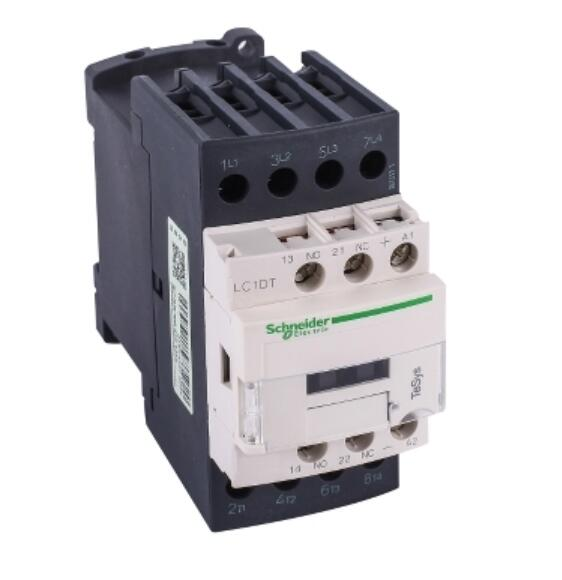 LC1DT32MD LC1DT32MDC TeSys D contactor - 4P(4 NO) - <font><b>AC</b></font>-1 - <= 440 <font><b>V</b></font> <font><b>32</b></font> A - 220 <font><b>V</b></font> <font><b>DC</b></font> standard coil image