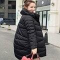 2016New invierno chaqueta abajo de la mujer embarazo maternidad chaqueta de plumón de pato por la chaqueta abrigo ropa de abrigo ropa de invierno ropa de abrigo