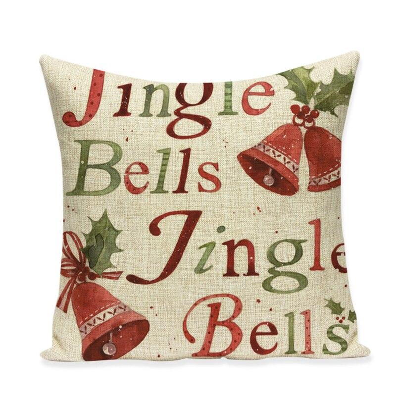 Ziemassvētku spilvenu pārvalka dīvāns augstas kvalitātes - Mājas tekstils - Foto 4