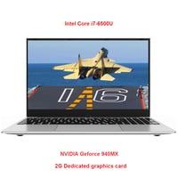 Metal Shell 15.6 Inch Intel i7 Laptop 8G RAM 1080P IPS Windows 10 Dedicated Card Gaming Notebook Full Layout Backlit Keyboard