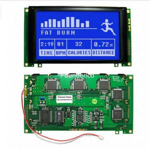 For NHD-240128WG-ATMI-VZ# LCD Screen Module Display  New