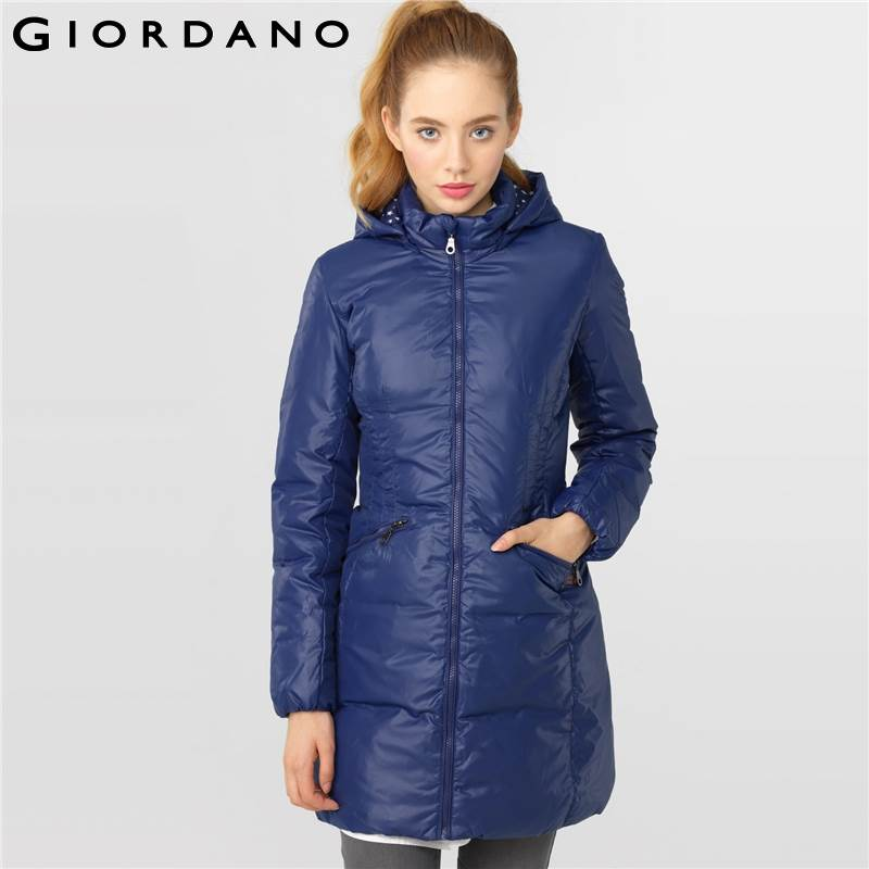 Aliexpress.com : Buy Giordano Women Winter Down Jackets and Coats ...