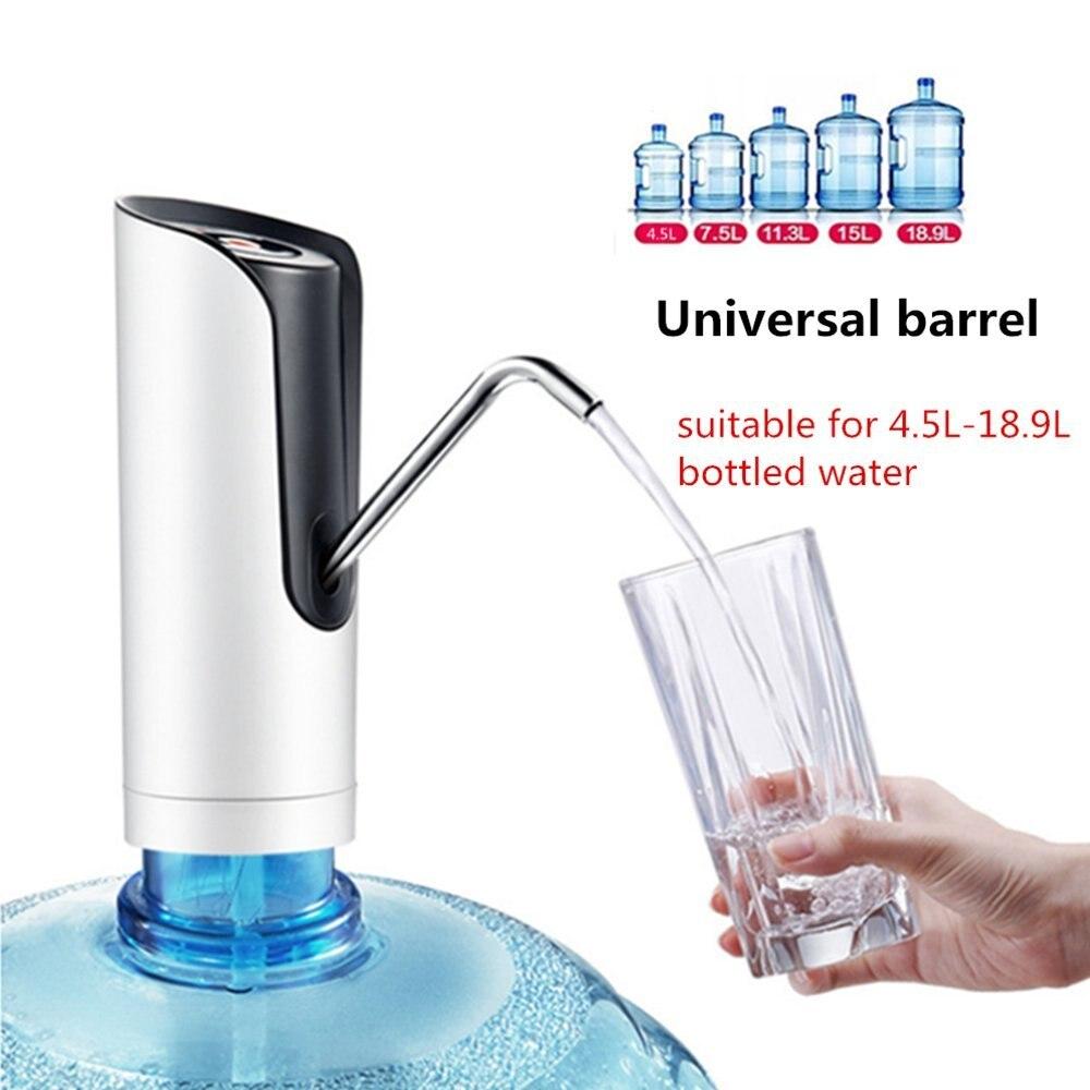 Автоматический насос для питьевой воды, электрический Универсальный галлон воды диспенсер для бутылочного насоса переключатель адаптер 5