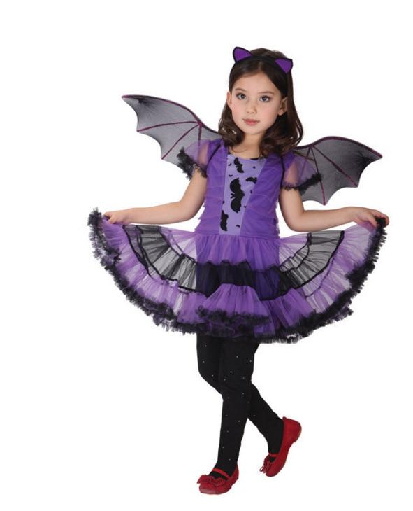 2017 NUOVA Regina Cattiva Ragazza Dei Bambini del Vestito di Halloween Costume Cosplay Festival Abiti Kids Party Fotografia Abbigliamento Fancy Dress