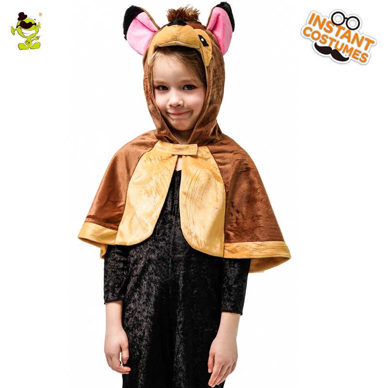 a7bd0d5b8ff8 ... Дети талисман животных Костюм лиса и сова и кролика и Бэмби с капюшоном  плащ для маленьких. СОПУТСТВУЮЩИЕ ТОВАРЫ. Детские костюмы ...