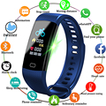 LIGE Smartwatch электронные умные часы для женщин и мужчин, бег, Велоспорт, скалолазание, здоровье, шагомер, СВЕТОДИОДНЫЙ цветной экран, спортивный ...