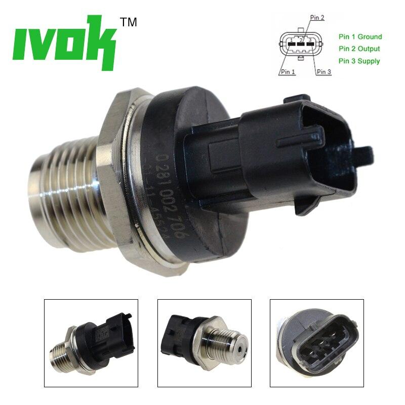 Fuel Rail Pressure Sensor For IVECO Daily ALFA ROMEO 147