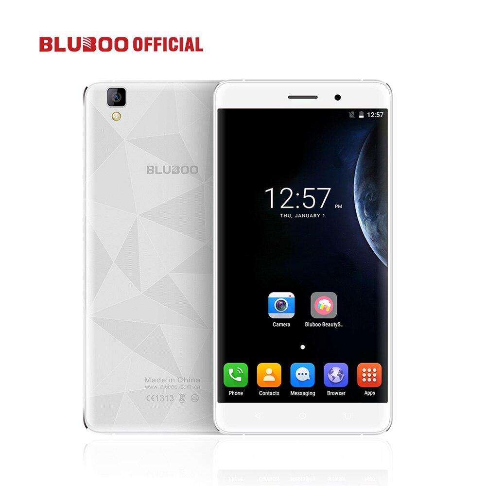 Оригинальный bluboo Maya 5.5 HD MTK6580 Quad Core Смартфон Android 6.0 2 ГБ оперативной памяти 16 ГБ ROM 5.0MP + 8.0MP 3 г мобильный телефон 3000 мАч