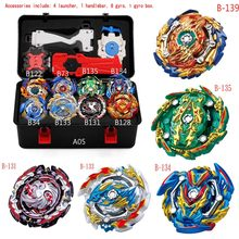 Hot 12 set Beyblade Arena Spinning Top Metal Fight Bey blade Metal Bayblade Stadium Children Gifts Classic Toy For Child(China)