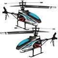 51 CM Livre-transporte Hot MJX F46 F646 F-Série Azul 51 CM 2.4G 4CH Único-Rotor RC Helicóptero de Controle Remoto LCD/PRO MEMS GIROSCÓPIO de Brinquedo