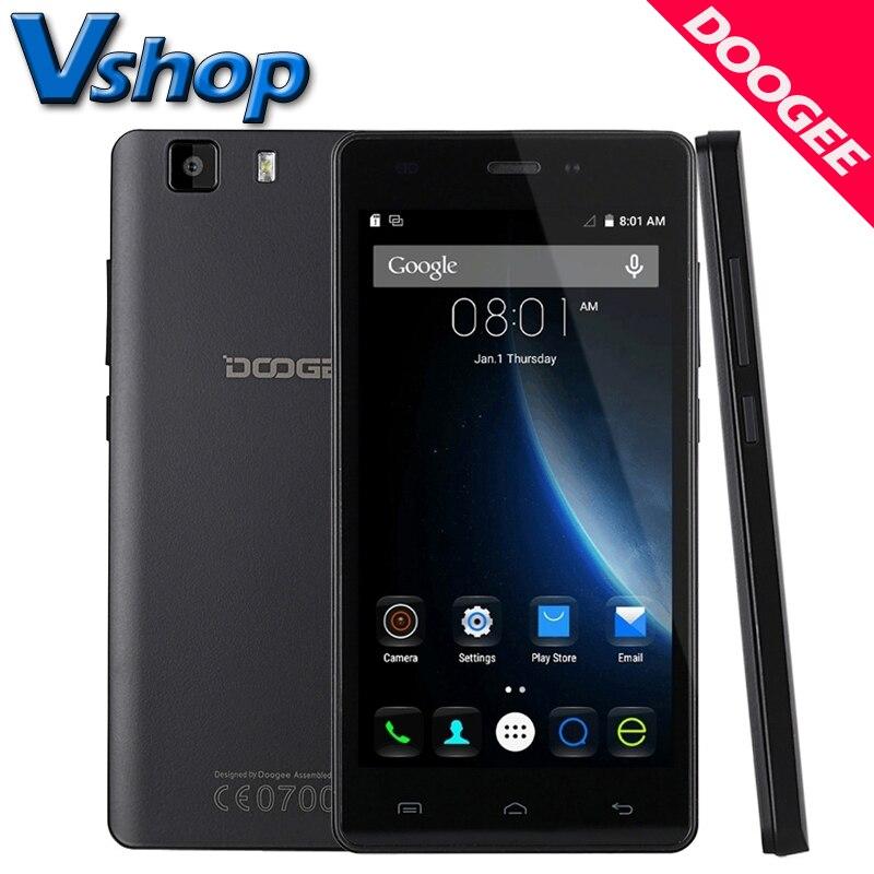 Original DOOGEE X5 3G Teléfonos Móviles Android 5.1 1GM RAM 8 GB ROM MT6580 Quad