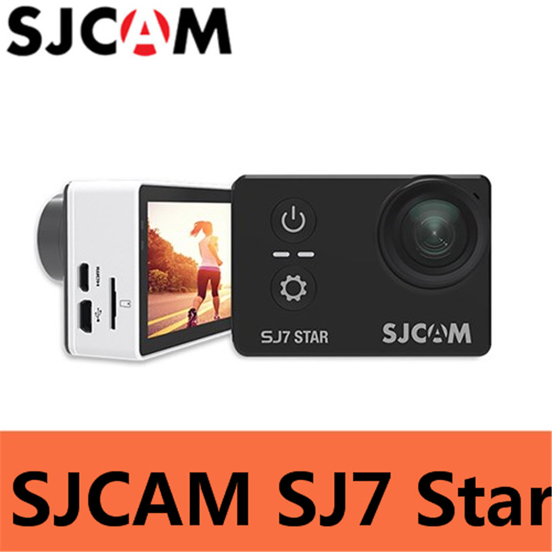 sjcam sj5000 plus ambarella a7ls75 sport camera SJCAM SJ7 Star Action Camera 4K 30fps 2.0 Touch Screen Remote Ultra HD Ambarella A12S75 30M Waterproof Sports Camera Car DVR