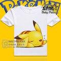 Historieta del anime de Pokemon Pikachu PIKA Estupendo Niños Camiseta de Manga Corta Niños Niños Niñas T shirt Summer Cotton Tee Shirts