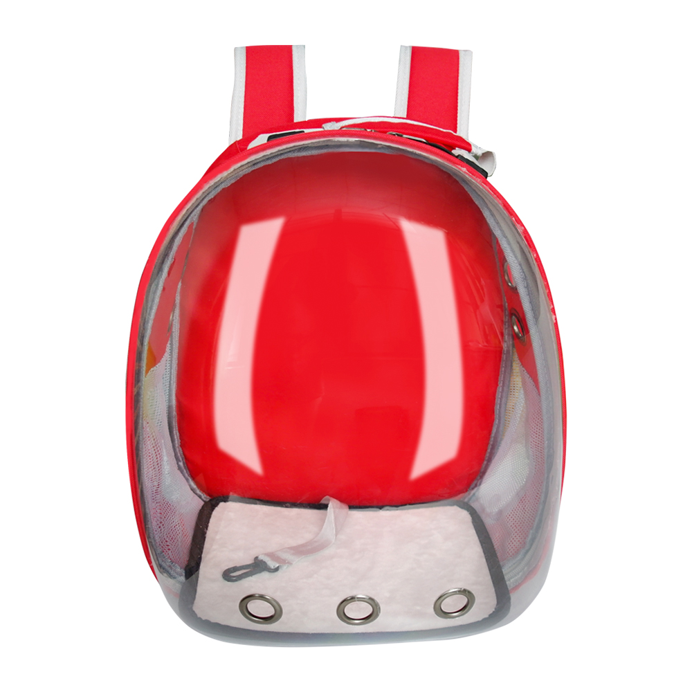 Cat Carrier Bag Breathable Transparent Puppy Cat Backpack Cats Box Cage Small Dog Pet Travel Carrier Handbag Space Capsule 1