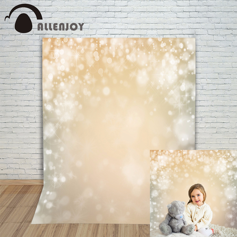Allenjoy foto background Golden stars bright beautiful snow bokeh Photophone backgrounds for photo studio studio backdrops allenjoy backgrounds for photo studio flower vintage bokeh letter wood backdrop photo studio photocall photographic