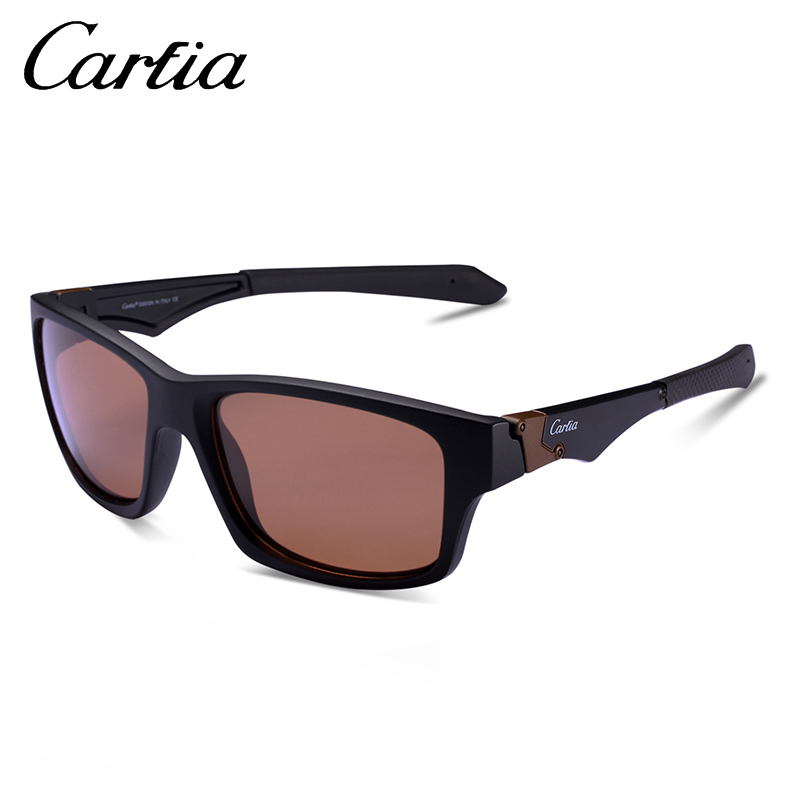 7d6299523a Carfia Sports Sunglasses UV400 Polarized Sunglasses for Mens Womens Driving  Running Fishing Golf