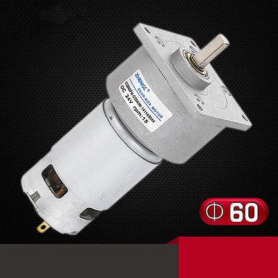 ZGB60FM-G DC 12V 24V 3RPM-500RPM 8mm Shaft Diameter Permanent Magnet Geared Motor  цены