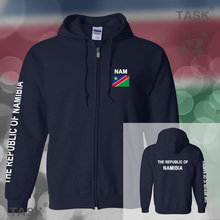 Namibia Namibian mens hoodies and sweatshirt jerseys polo sweat suits streetwear tracksuit nations fleece zipper 2017 NAM NA new