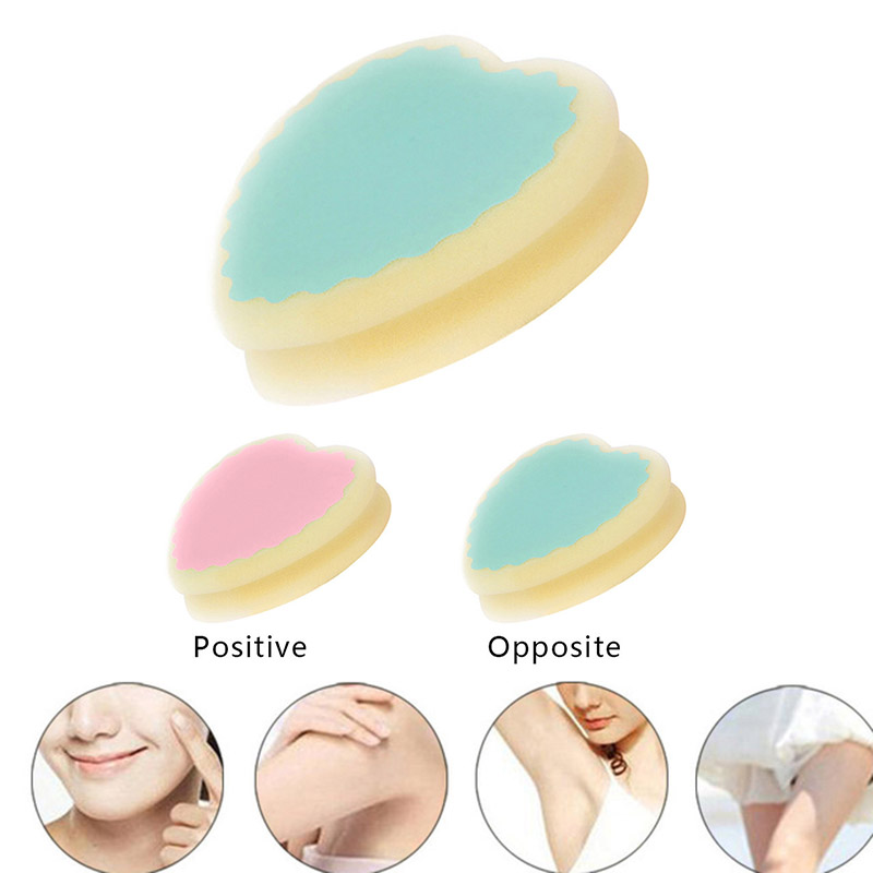 Magic Painless Sponge Hair Removal Depilation Sponge Pad Remove Hair Remover Effective Epilator Facial Body Hair Remover Tool
