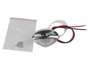 Image 1 - 1Piece White Marine Boat LED Electroplate Corridor Downstair Light for 12V Vehicles RV
