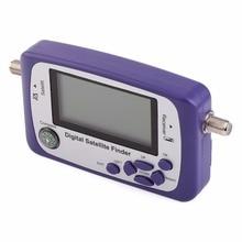 Digital Displaying Satellite Finder Meter Satfinder TV Signal Receiver Sat Decoder Satlink Receptor Buzzer LCD FTA Dish