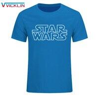 Star Wars STAR WARS Short Sleeved T Shirt Male Fashion Cotton T Shirt Loose Team DIY