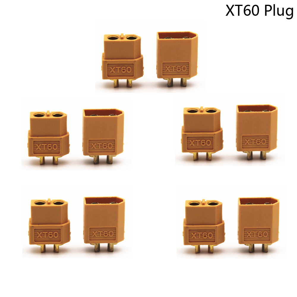 XT60 XT30 Male Female Bullet Connectors Plug 10PCS/lot For RC Lipo Battery Wholesale For RC Lipo Battery Quadcopter Multicopter image
