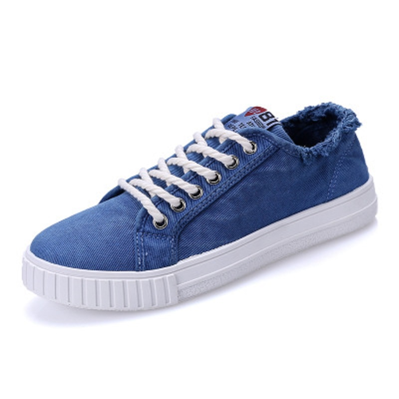 Blanc Hommes Summer 2 Mode Casual De 4 3 Toile New 2018 1 Chaussures a48wAan
