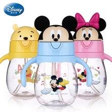 270 мл disney Детские Кормление чашки с соломой Babys бутылочка для кормления для воды ручкой мой МИККИ прекрасный чашек открытый