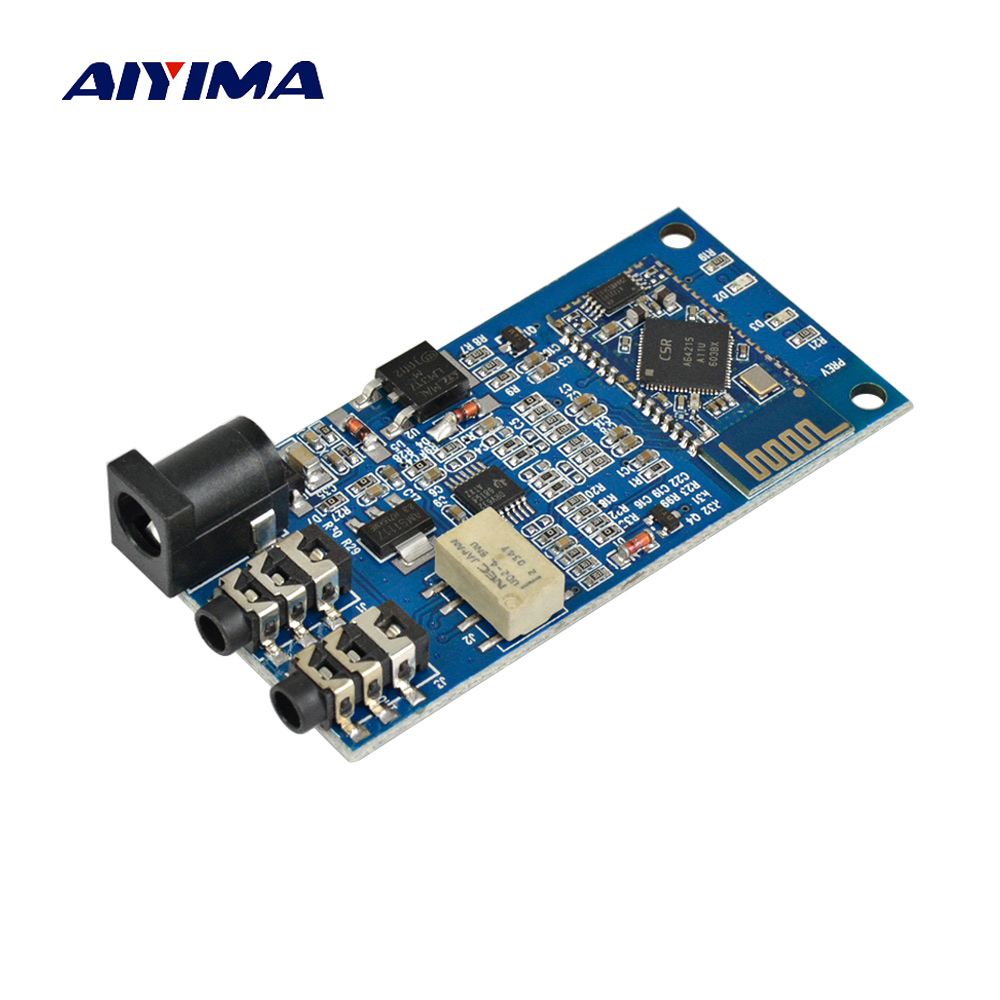 AIYIMA Bluetooth Receiver Board CSR64215 Bluetooth 4 2 Module Lossless APT X Wireless Audio Receiver For