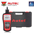 2016 Newest Original Autel Maxidiag Elite MD802 Scanner for 4 Systems ABS SRS Scanner Engine DS Model OBDII Diagnostic Tools