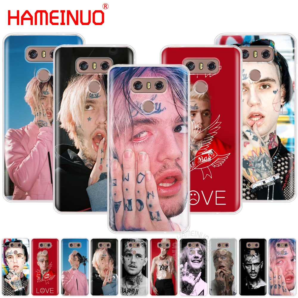 HAMEINUO Lil Peep case phone cover for LG G6 G5 K10 M250N M250 2017 2016