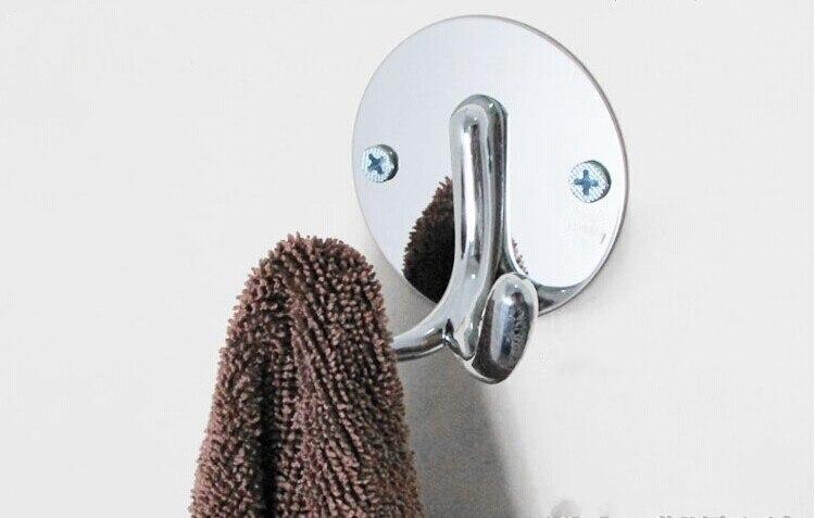 Творчески 304 Нержавеющая сталь Крючки яркая одежда сумка Кепки Крючки стены один Крючки украсить дом одного крюк мыть комнаты