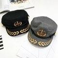 Nova marca 2016 Meninos Bordados Sentiu Snapback Bonés de Beisebol Ao Ar Livre moda Coroa chapéus Gorras Hip Hop Ocasional Presente para crianças