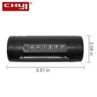 CHYI Mini Wireless Bluetooth Speaker Portable Hifi Stereo BT Speaker Subwoofer Speaker With Antenna Boombox FM Flashlight Mp3