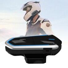 Мотоцикл домофон Bluetooth гарнитура водонепроницаемый беспроводной голосовой контроль переговорные NK-Shopping