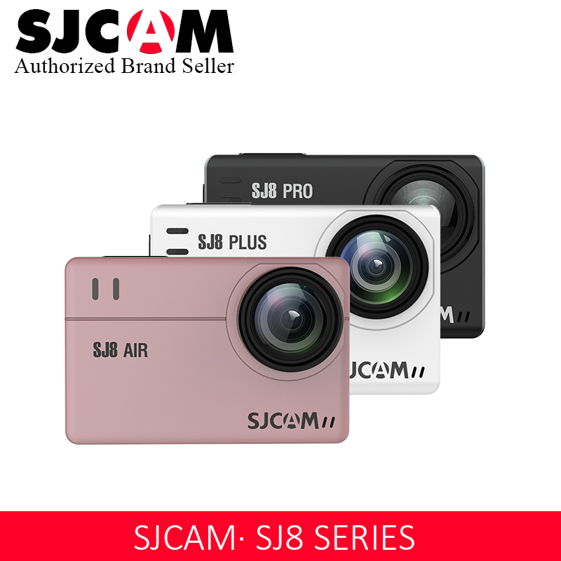 In Stock! SJCAM SJ8 Pro/SJ8 Plus/SJ8 Air Action Camera 1296P 4K 30fps / 60fps Sports DV Remote Control Helmet Camera (Small Box)