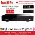 Haut de gamme Egreat A8 Pro UHD lecteur multimédia professionnel 4 K Android 7.0 Smart TV Box Bluetooth 3.5 ''HDD SATA HDMI2.0 HD décodeur
